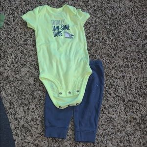 6 month shark outfit